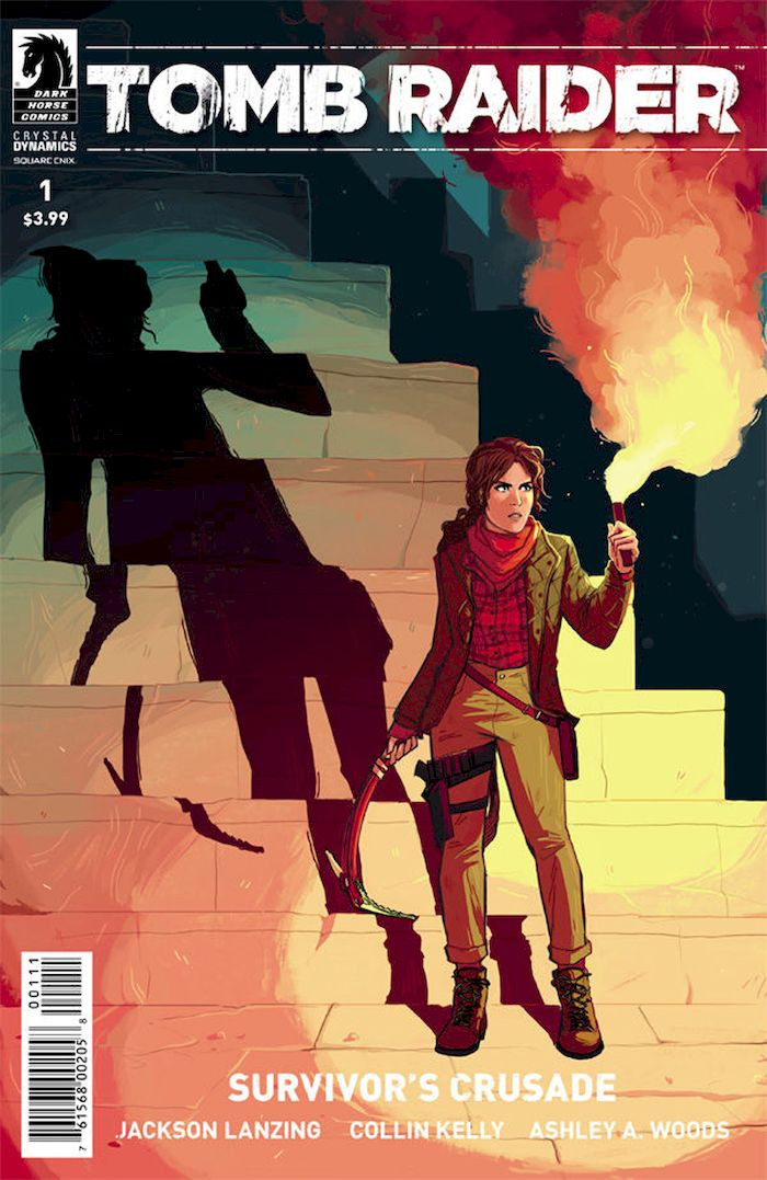 TOMB RAIDER SURVIVORS CRUSADE #1 - #4 (OF 4) SET