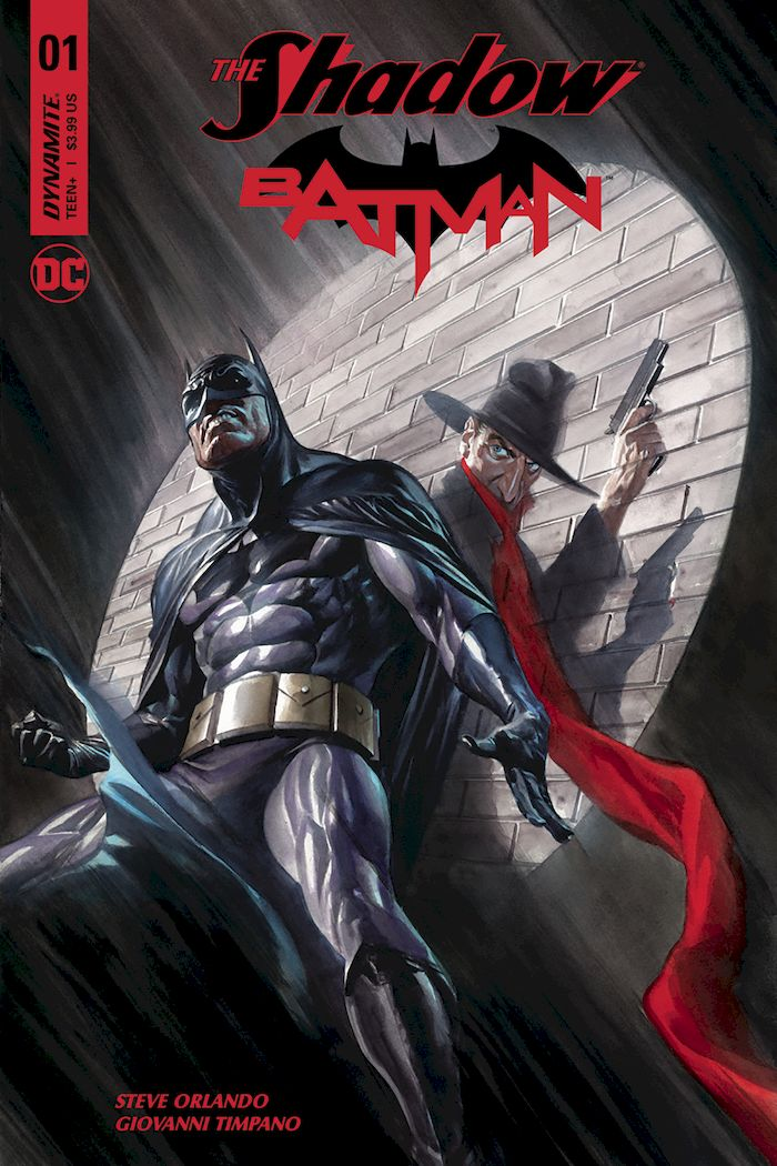 THE SHADOW BATMAN #1 - #3 VARIANT SET