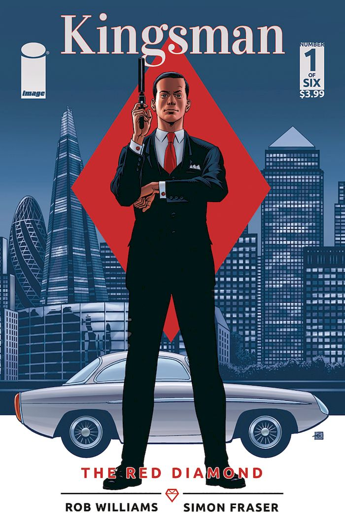 KINGSMAN RED DIAMOND #1 - #6 (OF 6) SET