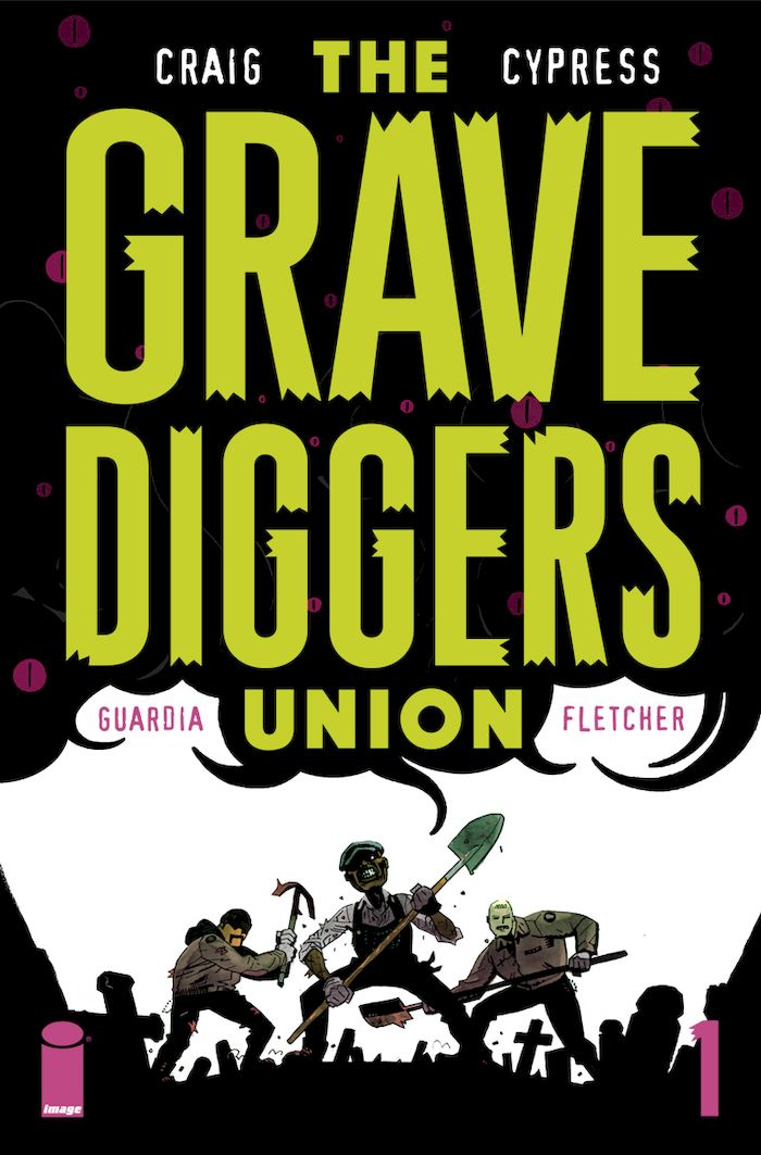 THE GRAVEDIGGERS UNION #1 - #5 SET