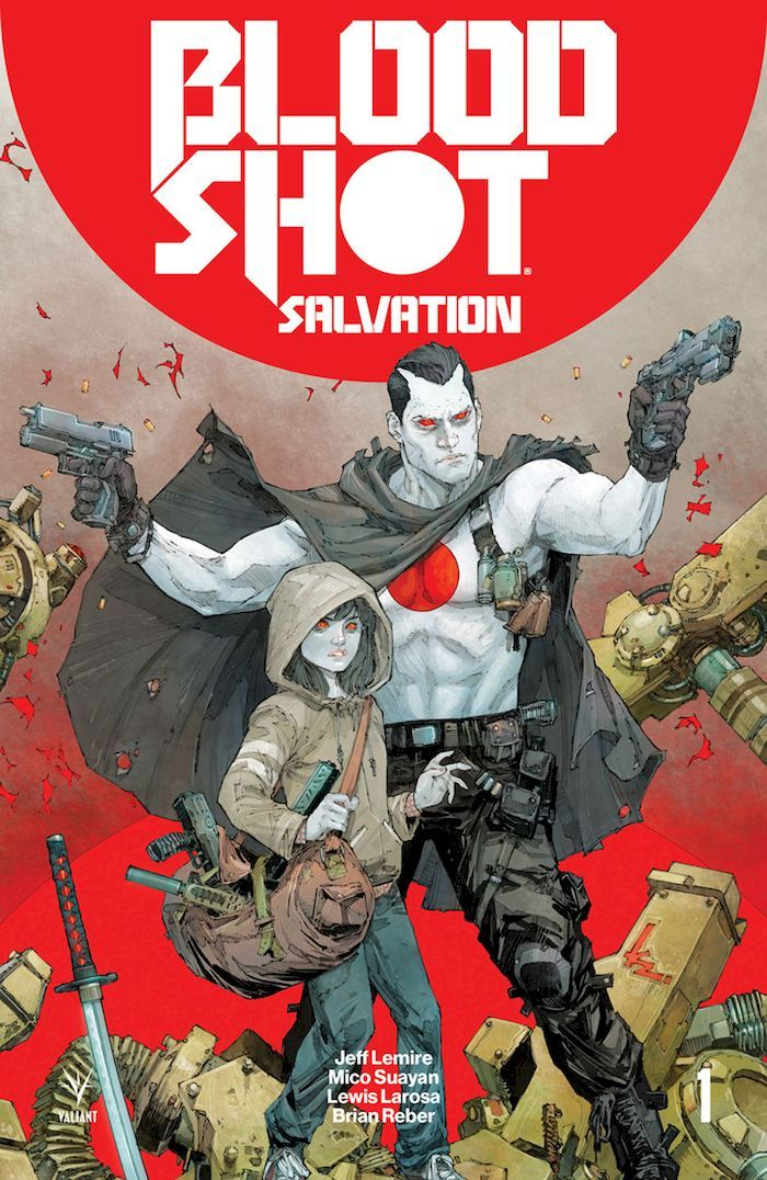 BLOODSHOT SALVATION #1 - #12 (OF 12) SET - #8 EKSİK