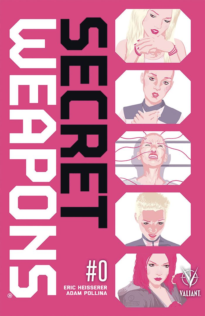 SECRET WEAPONS #0 - #4 (OF 4) SET + ONE SHOT