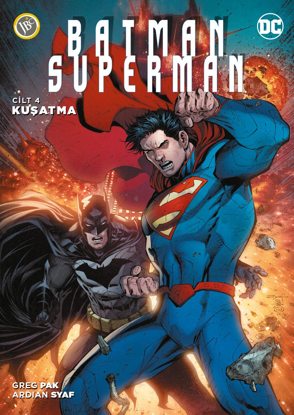 Batman Superman Cilt 4 - Kuşatma