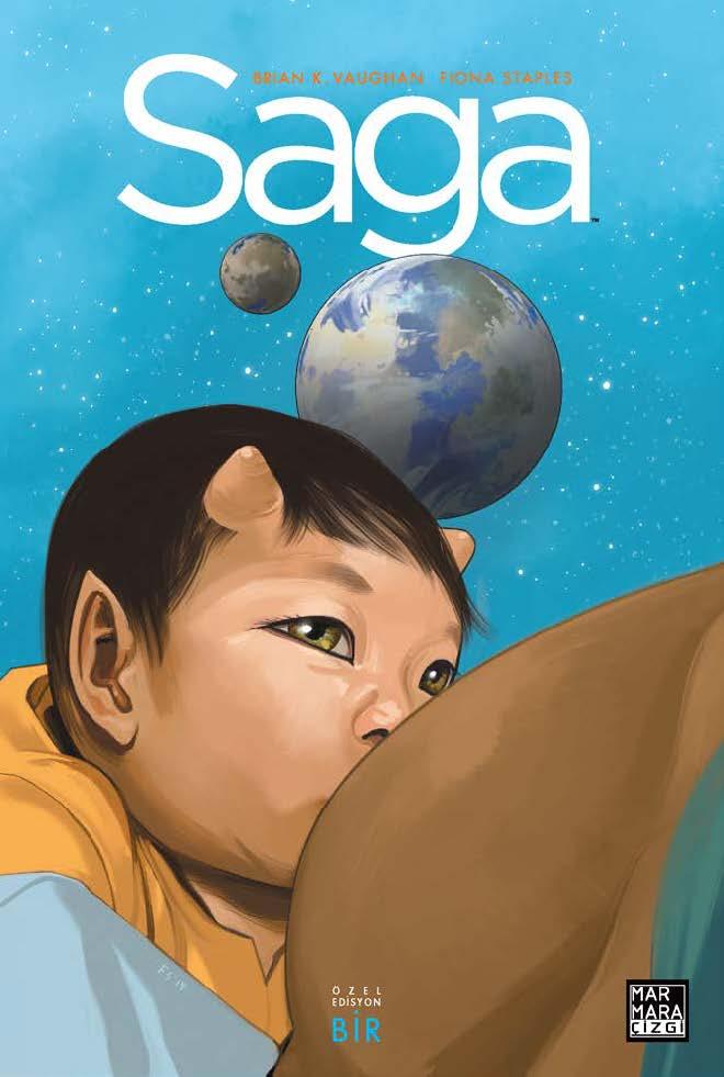 Saga Özel Edisyon ( Üç Kitap Birarada - Sert Kapak )  Cilt 1