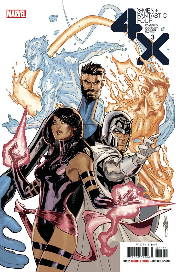 X-MEN FANTASTIC FOUR #3 (OF 4)