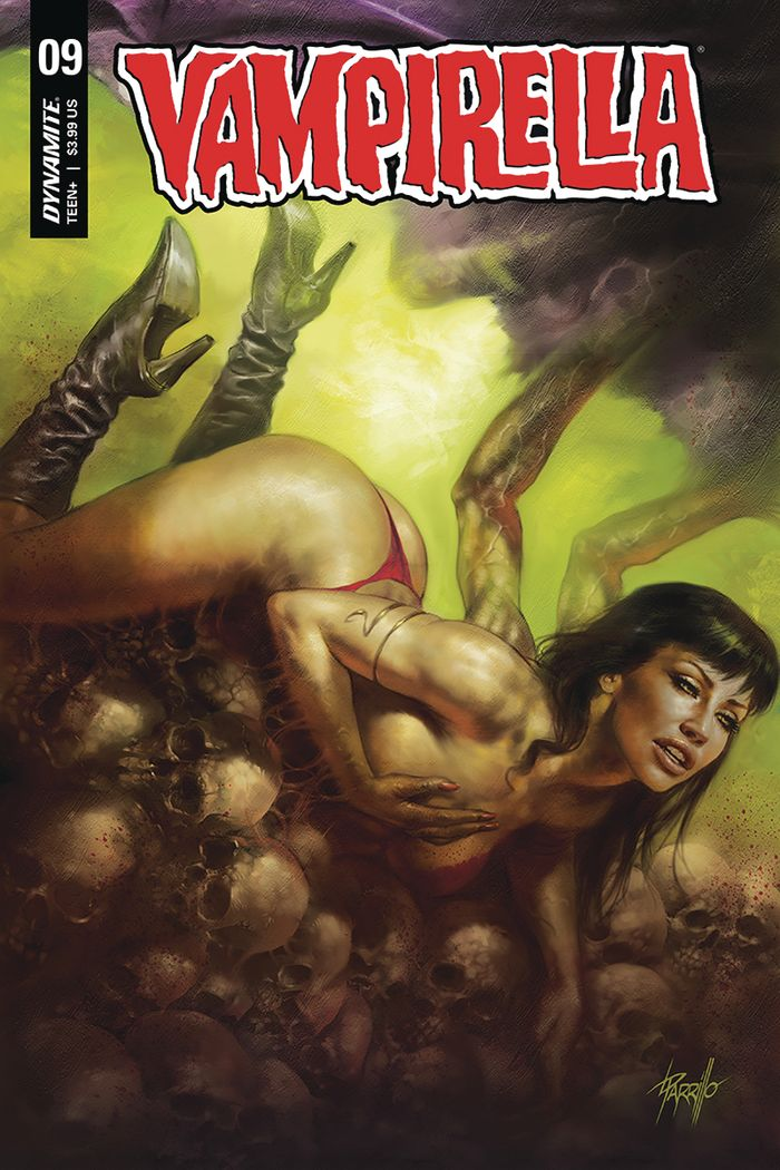 VAMPIRELLA #9 COVER A PARRILLO