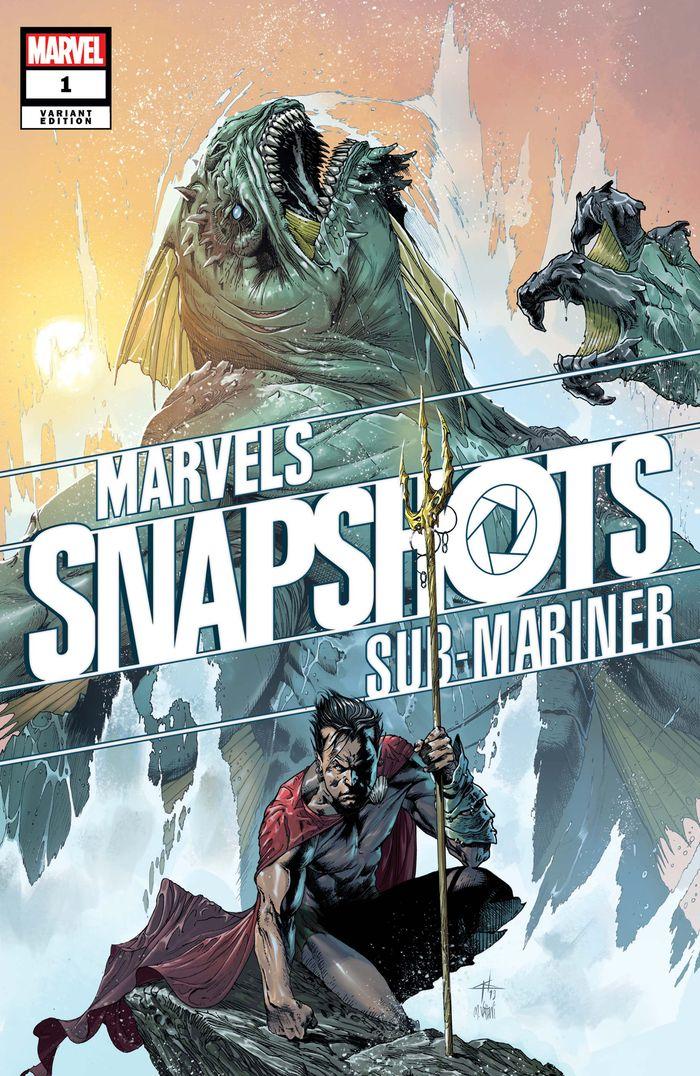SUB-MARINER MARVELS SNAPSHOT #1 DELLOTTO VARIANT