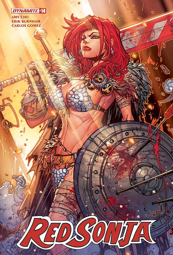 RED SONJA #14 COVER A MEYERS (2018)