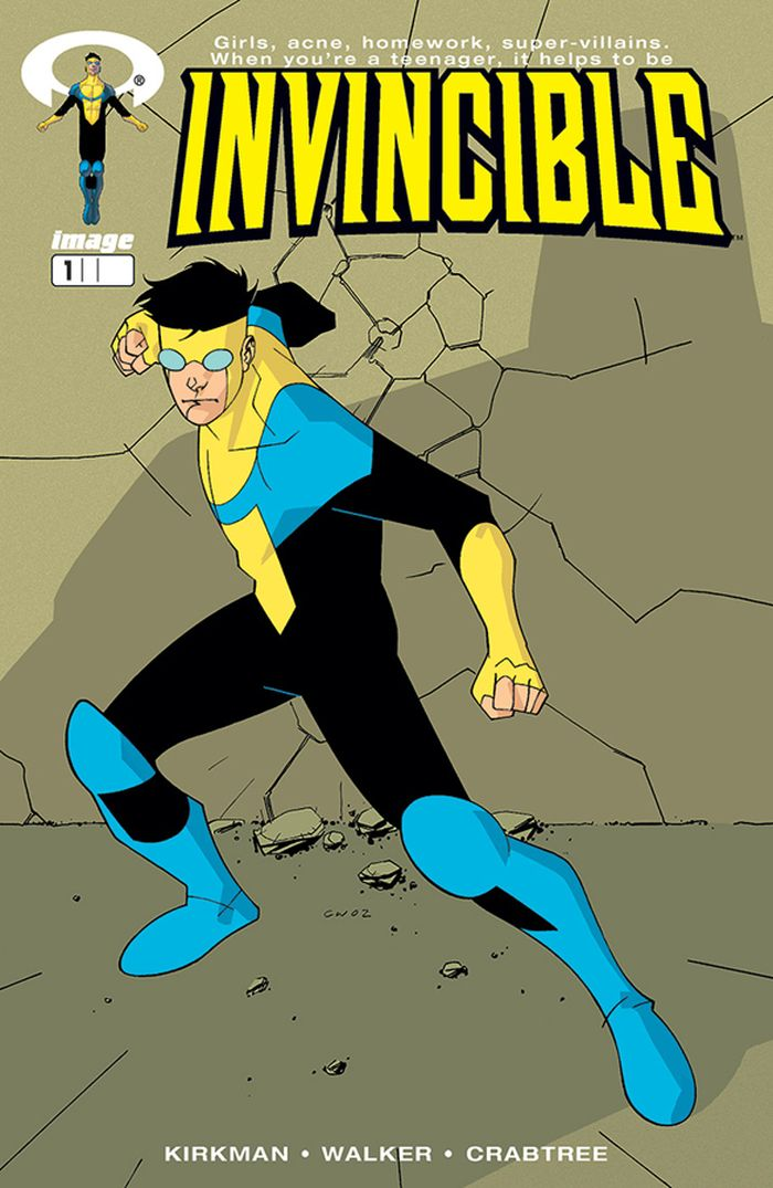 IMAGE FIRSTS INVINCIBLE #1 CURR PTG + 1 Adet Yerli Karton ve Poşet