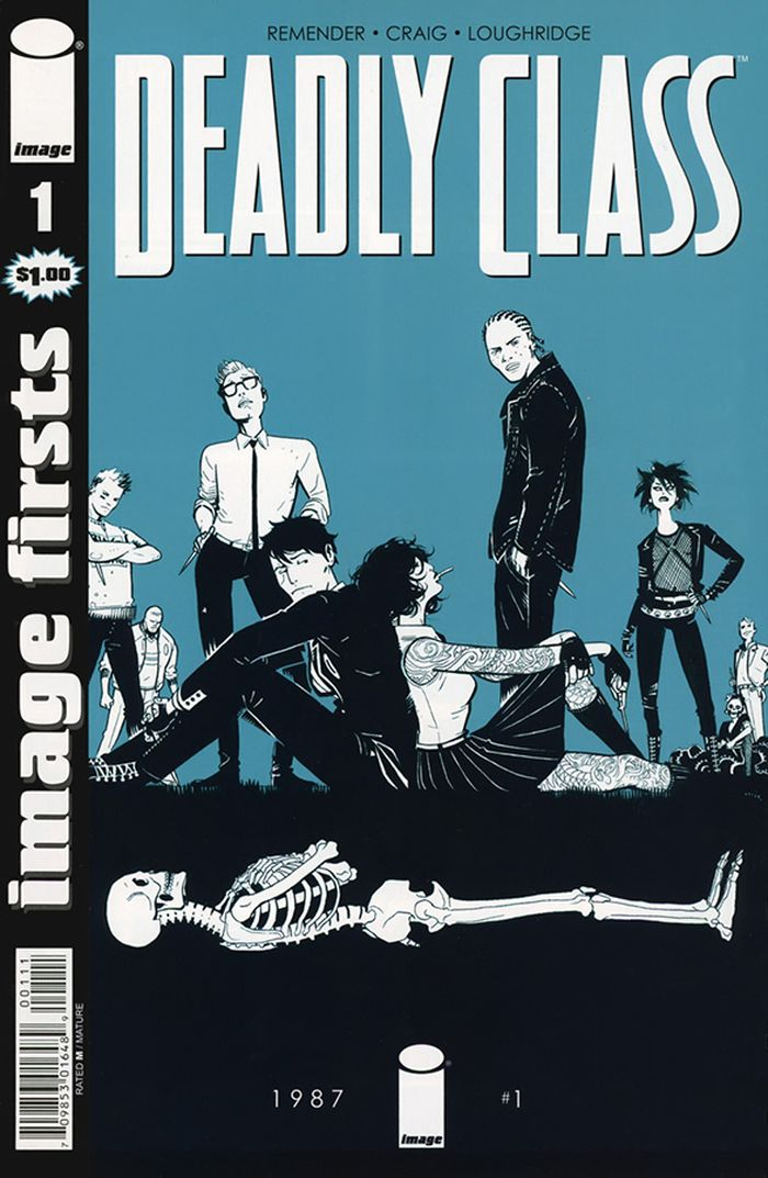 IMAGE FIRSTS DEADLY CLASS #1 + 1 Adet Yerli Karton ve Poşet