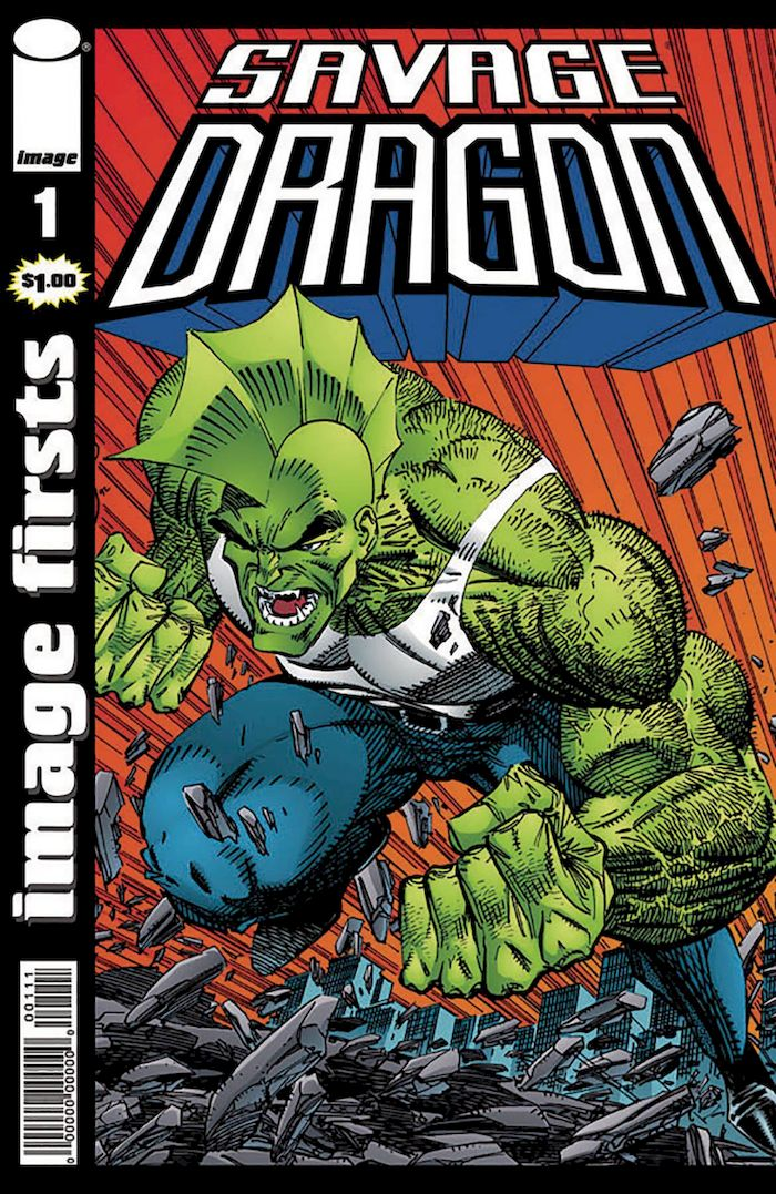 IMAGE FIRSTS CURR PTG SAVAGE DRAGON #1+ 1 Adet Yerli Karton ve Poşet
