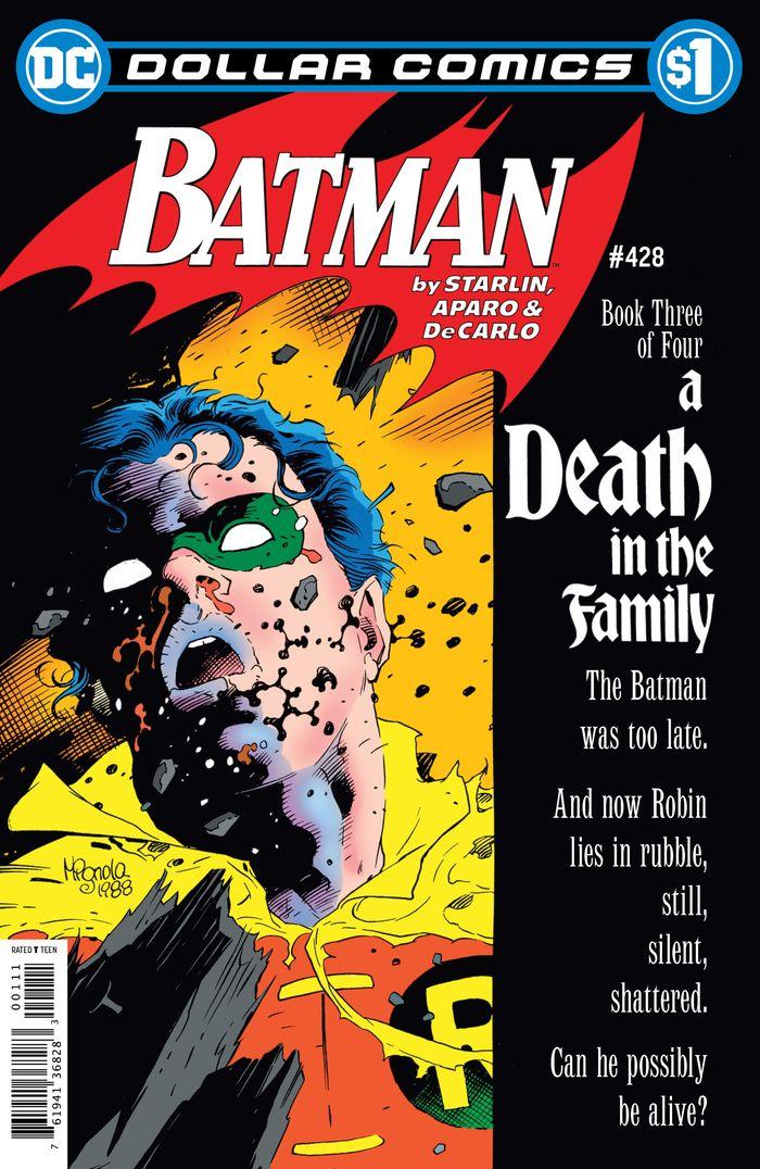 DOLLAR COMICS BATMAN #428 + 1 Adet Yerli Karton ve Poşet