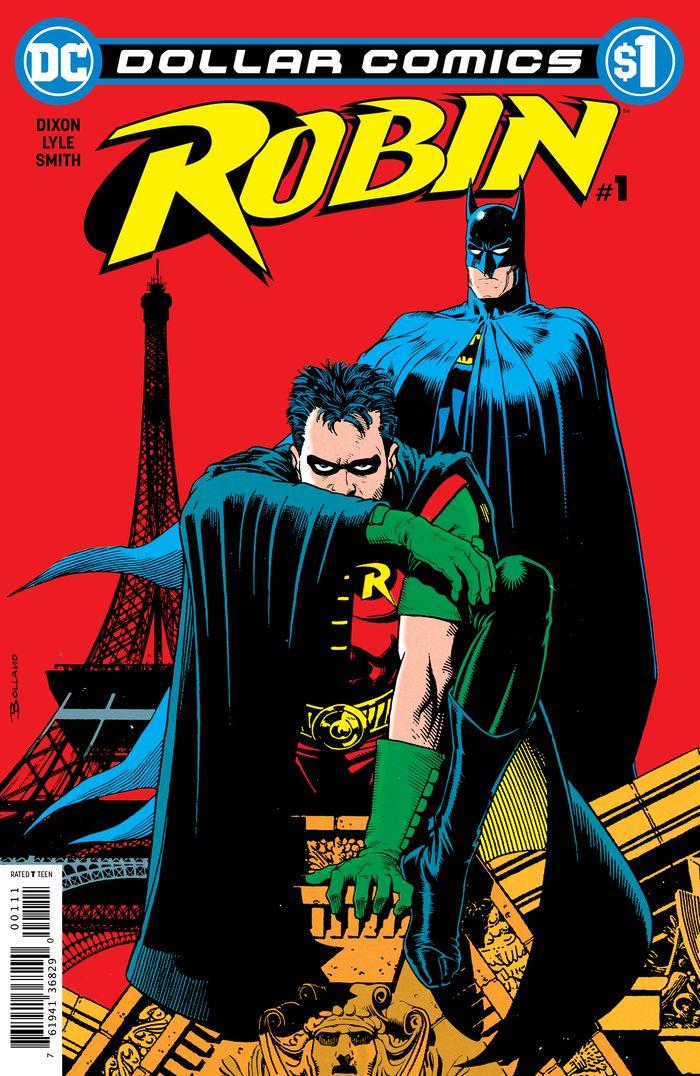 DOLLAR COMICS ROBIN #1 1991 + 1 Adet Yerli Karton ve Poşet