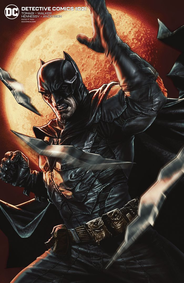 DETECTIVE COMICS #1021 CARD STOCK LEE BERMEJO VARIANT