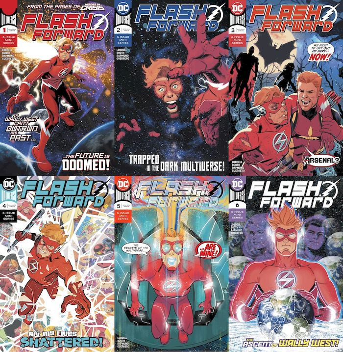 FLASH FORWARD #1 - #6 (OF 6) SET