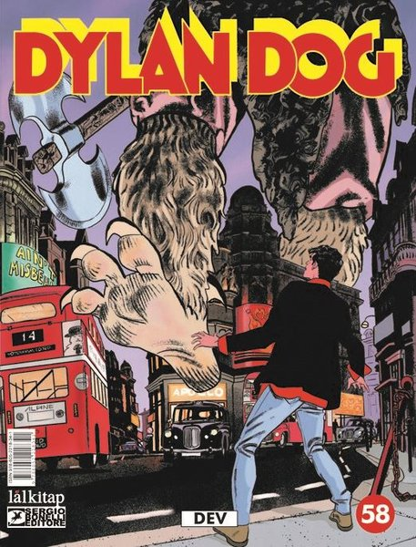 Dylan Dog Sayı 58 - Dev