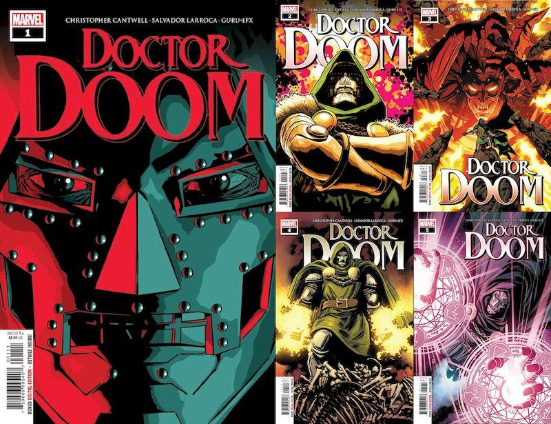 DOCTOR DOOM #1 - 5 SET