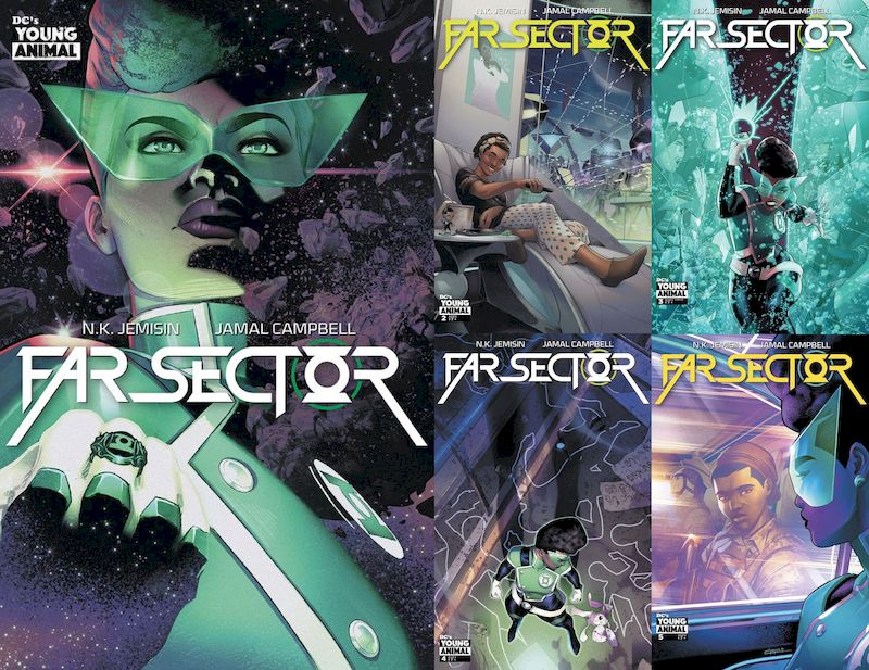 FAR SECTOR #1 - 5 (OF 12) SET