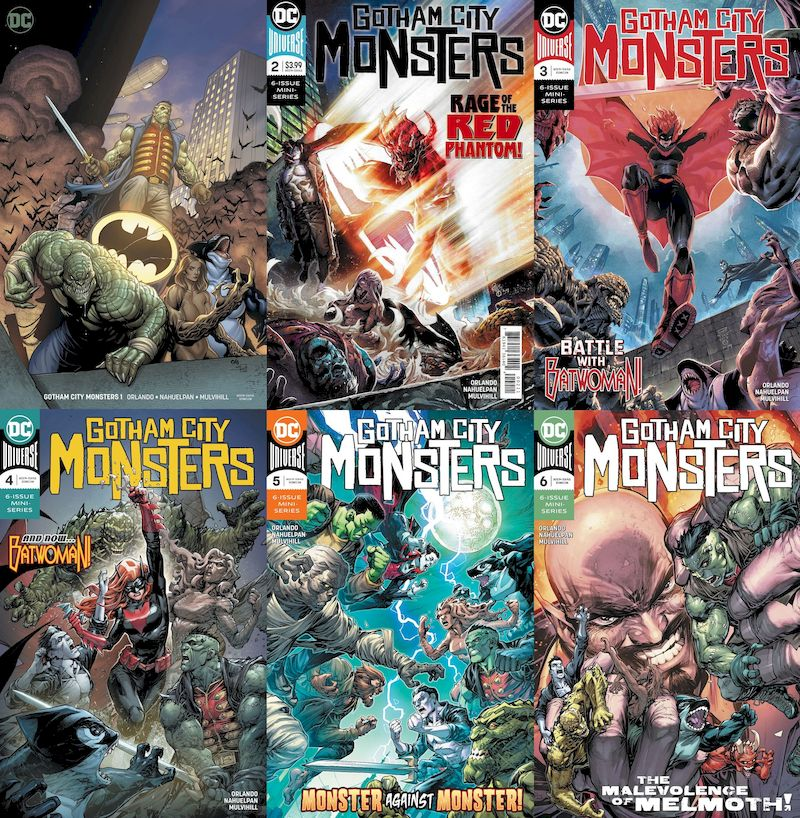 GOTHAM CITY MONSTERS #1 - 6 (OF 6) SET