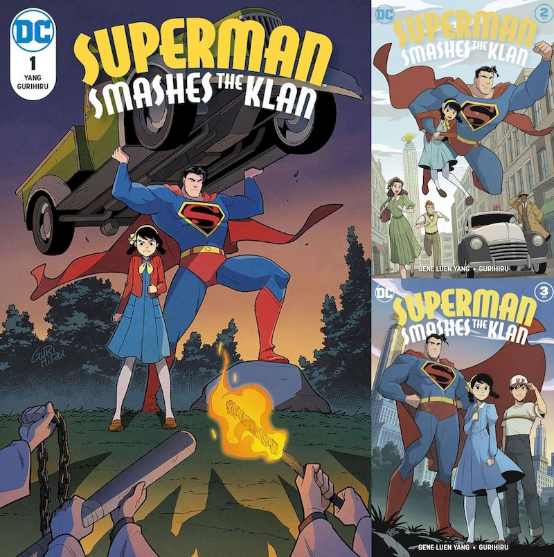 SUPERMAN SMASHES THE KLAN #1 - 3 (OF 3) SET