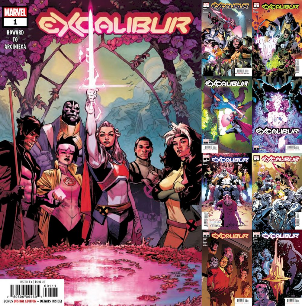 EXCALIBUR #1 - #9 SET