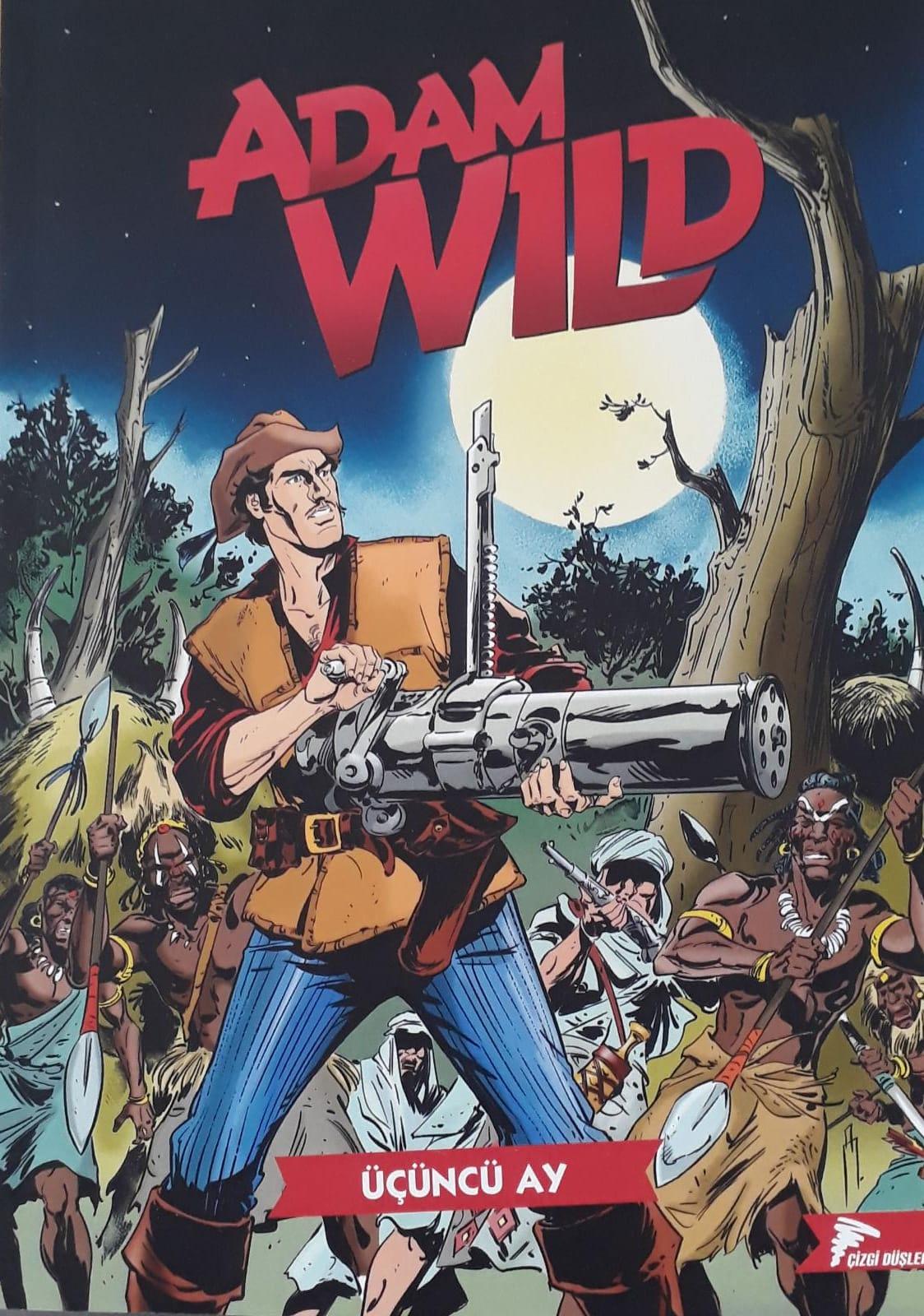 Adam Wild Cilt 3: Üçüncü Ay
