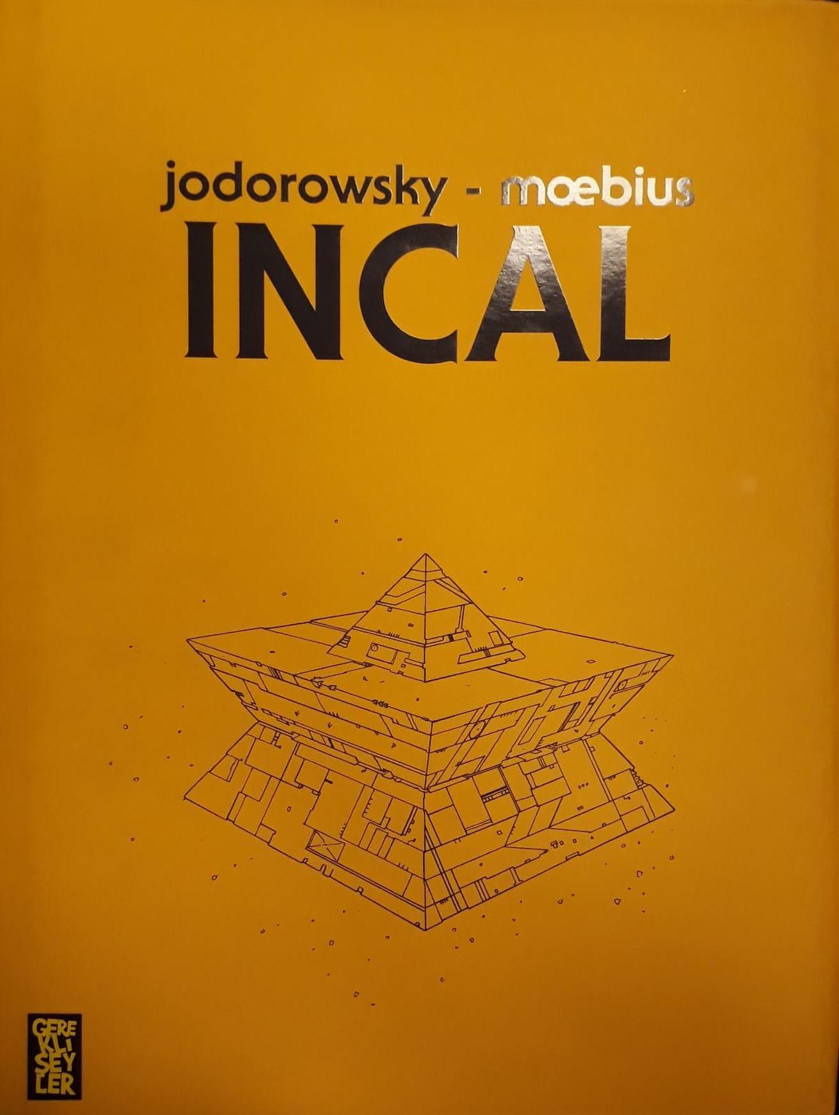 INCAL (Sert Kapak-Limitli)
