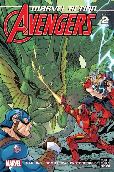 Marvel Action Avengers Sayı 2