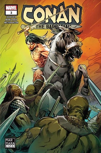 Conan the Barbarian Sayı 3