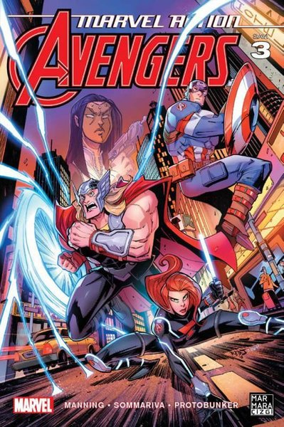 Marvel Action Avengers Sayı 3