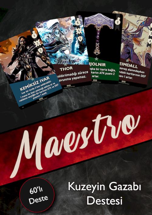Maestro: Kuzeyin Gazabı - Kart Oyunu