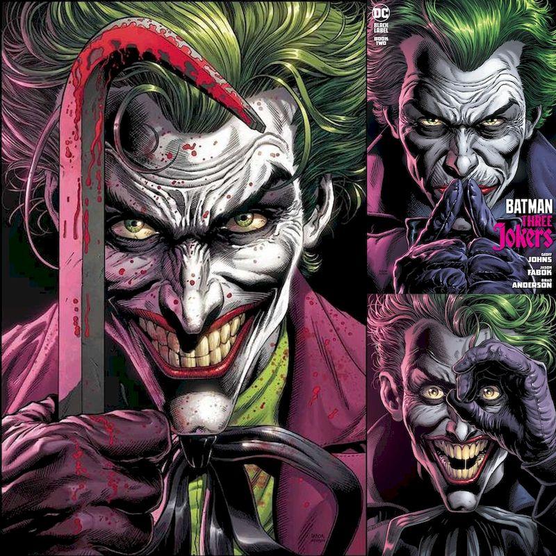 BATMAN THREE JOKERS #1 - 3 ANA KAPAK ABONELİK KAPORA ÖDEMESİ