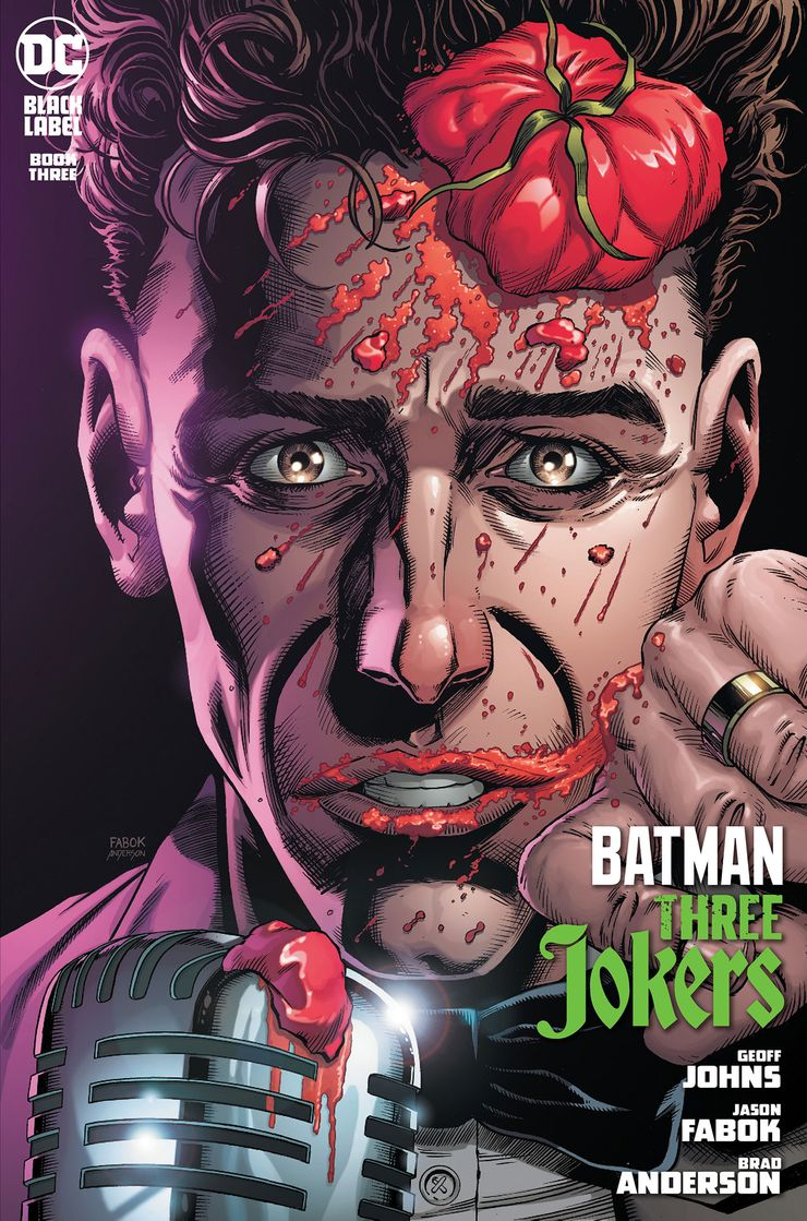 BATMAN THREE JOKERS #3 (OF 3) PREMIUM VARIANT H STAND UP COMEDIAN KAPORA ÖDEMESİ