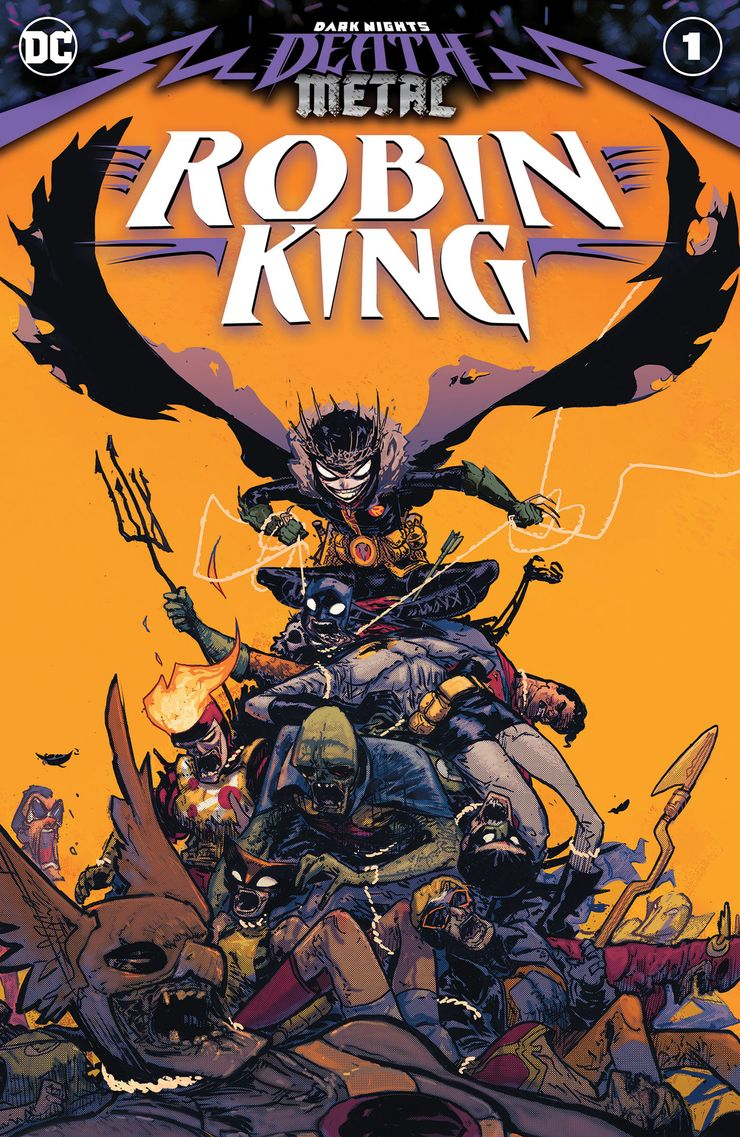 DARK NIGHTS DEATH METAL ROBIN KING #1 ÖN SİPARİŞ KAPORA ÖDEMESİ