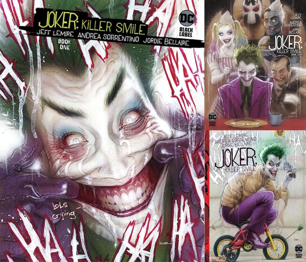 JOKER KILLER SMILE #1 - 3 (OF 3) VARIANT SET