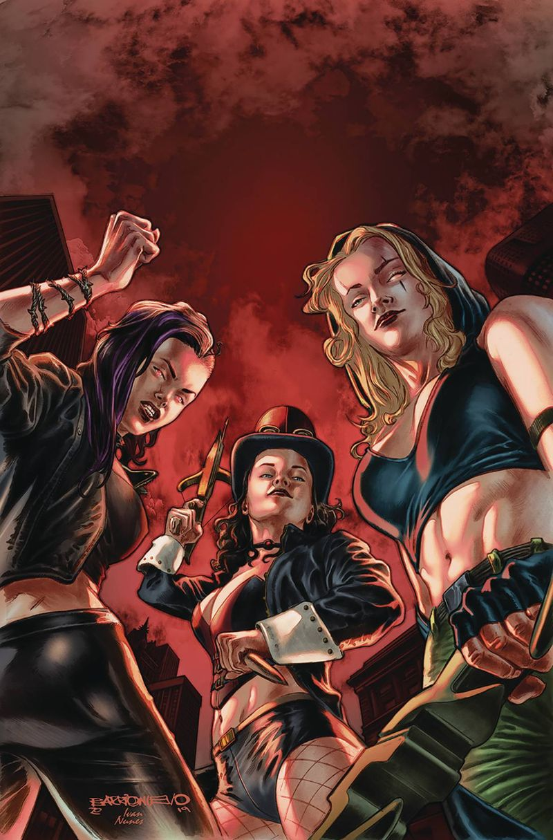VAN HELSING VS LEAGUE MONSTERS #3 COVER A BARRIONUEVO