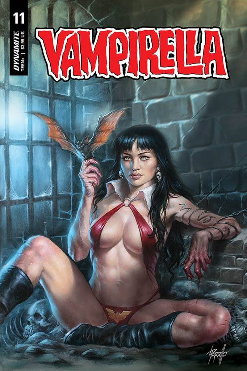 VAMPIRELLA #11 COVER A PARRILLO