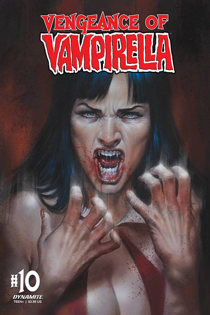 VAMPIRELLA #10 COVER A PARRILLO