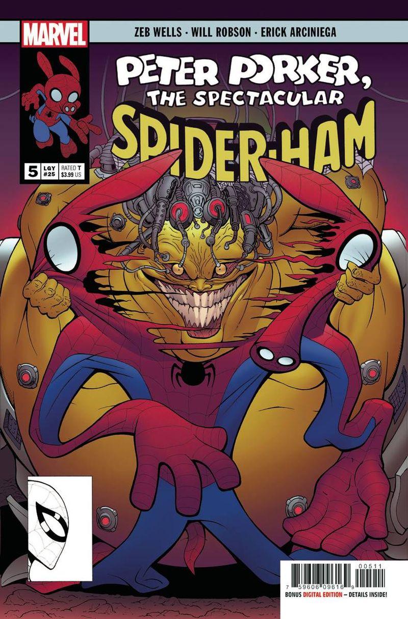 SPIDER-HAM #5 (OF 5)