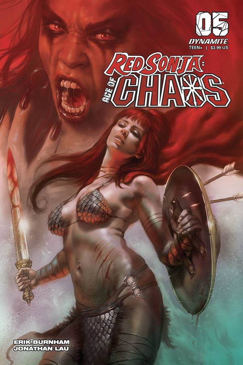 RED SONJA AGE OF CHAOS #5 COVER A PARRILLO