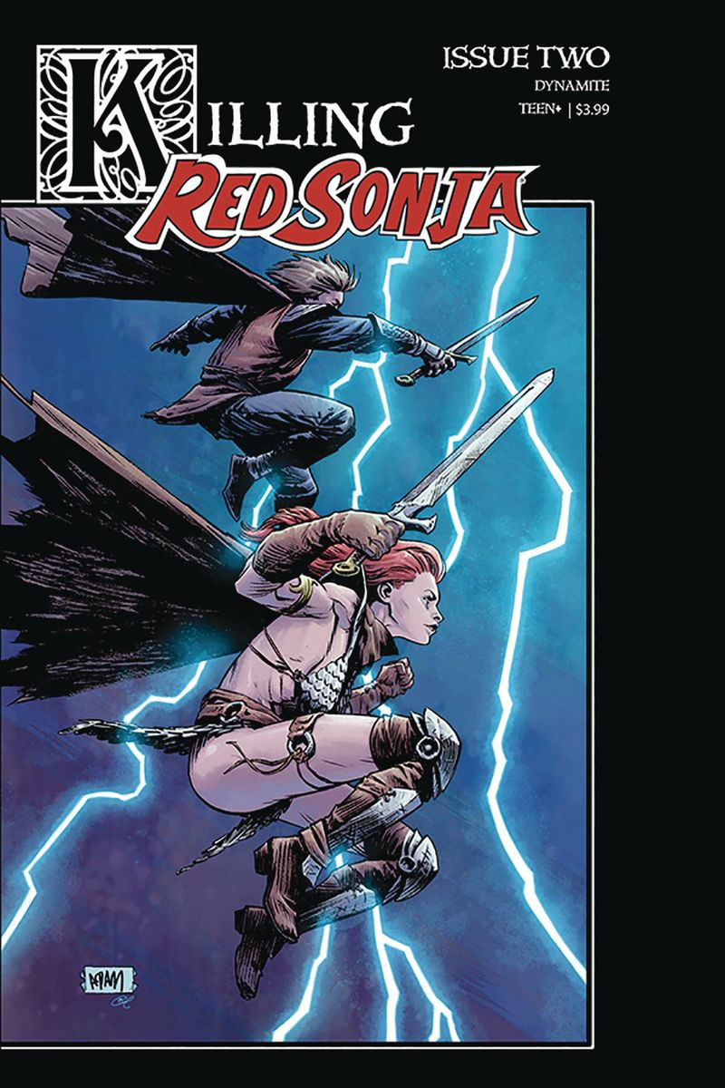 KILLING RED SONJA #2 COVER B GORHAM HOMAGE