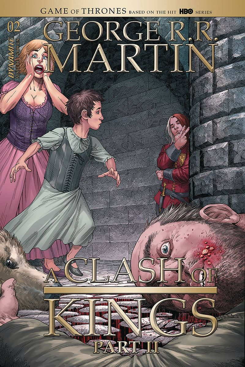 GEORGE RR MARTIN A CLASH OF KINGS #4 COVER A MILLER