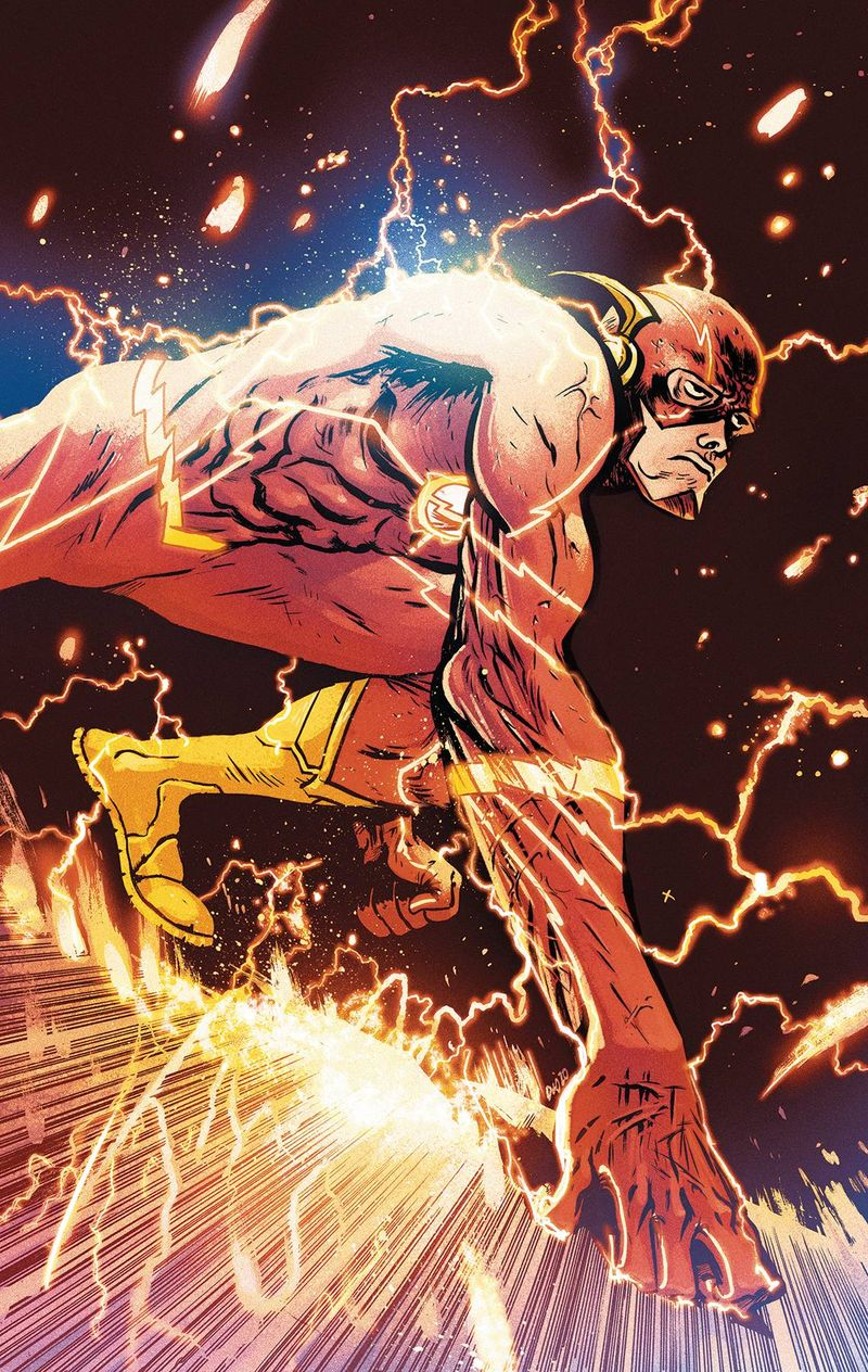 FLASH #756 CARD STOCK DANIEL W JOHNSON VARIANT