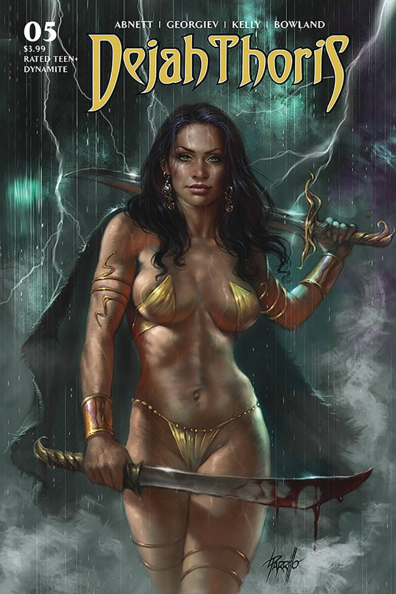 DEJAH THORIS (2019) #5 COVER A PARRILLO
