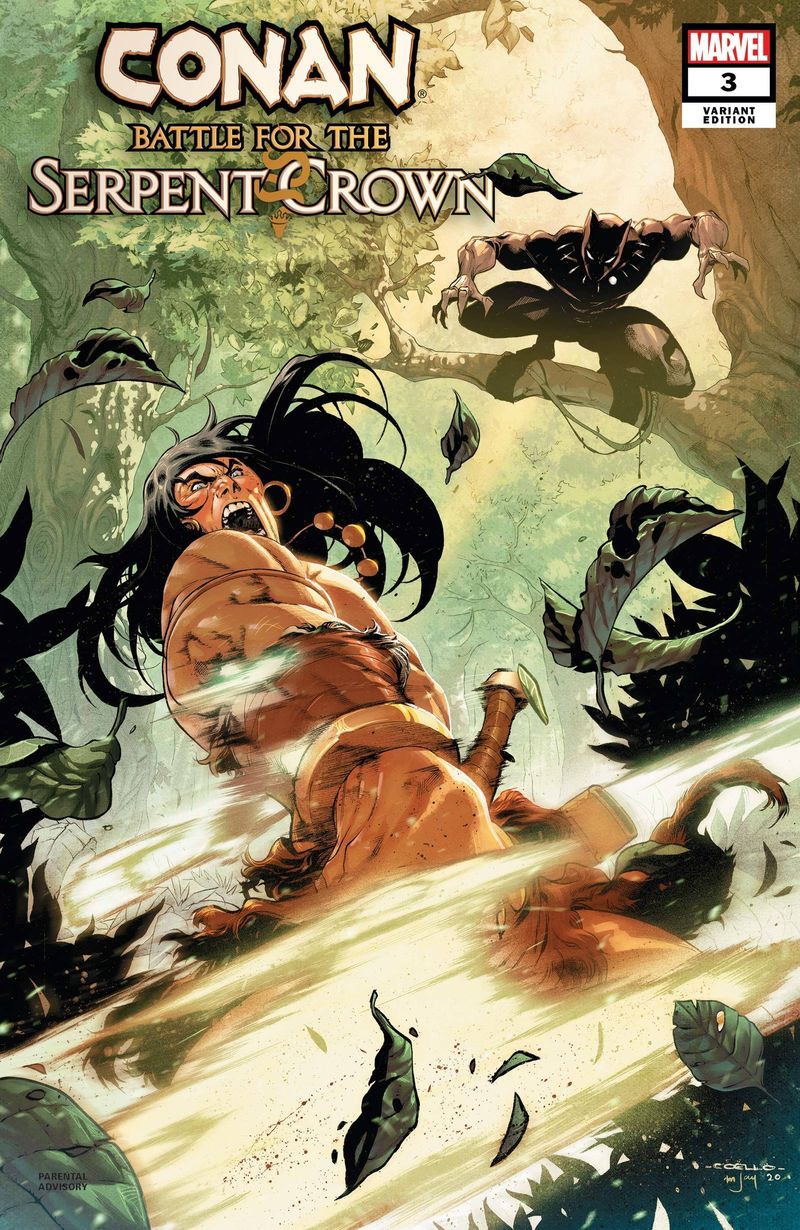 CONAN BATTLE FOR SERPENT CROWN #3 (OF 5) COELLO VARIANT