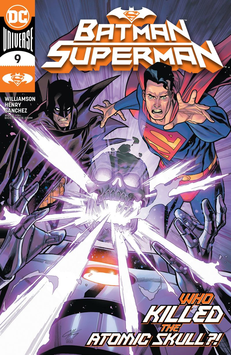 BATMAN SUPERMAN #9