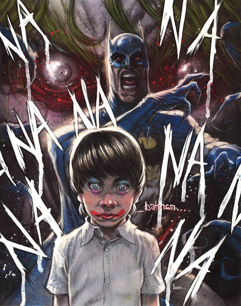 BATMAN THE SMILE KILLER #1 KAARE ANDREWS VARIANT