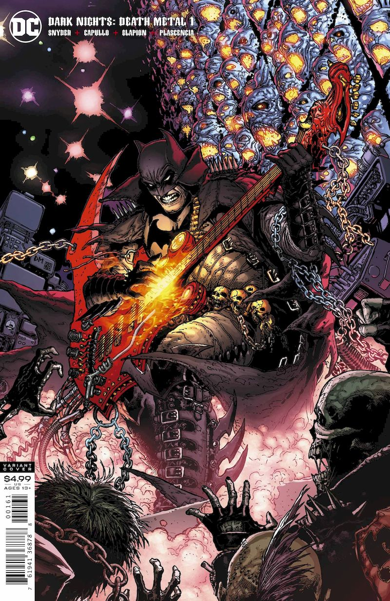 DARK NIGHTS DEATH METAL #1 (OF 6) 1:25 DOUG MAHNKE VARIANT