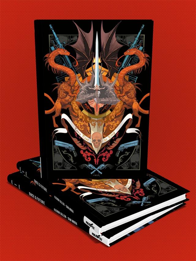 Once & Future Cilt 1: Kral Ölümsüz - Sert Kapak Özel Edisyon - (150 Limitli, Numaralı)