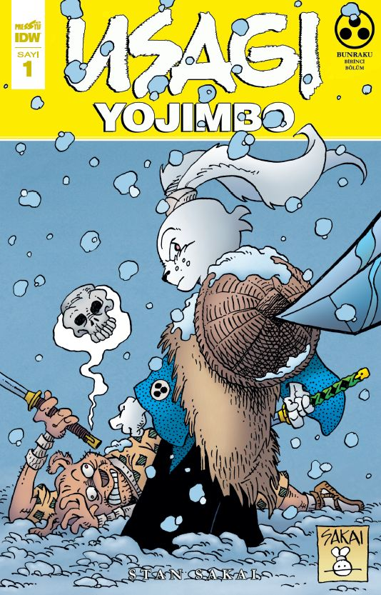 Usagi Yojimbo Sayı 1 (Kapak A)